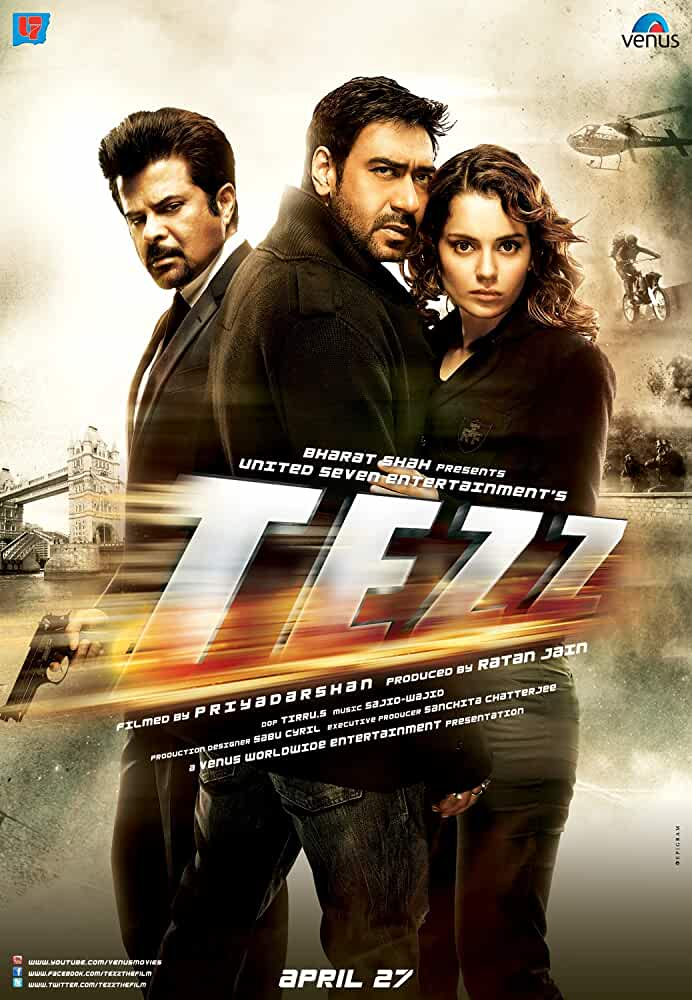 Tezz 2012 Movies Watch on Disney + HotStar