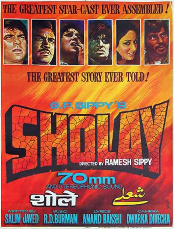 Sholay 1975 Movies Watch on Amazon Prime Video
