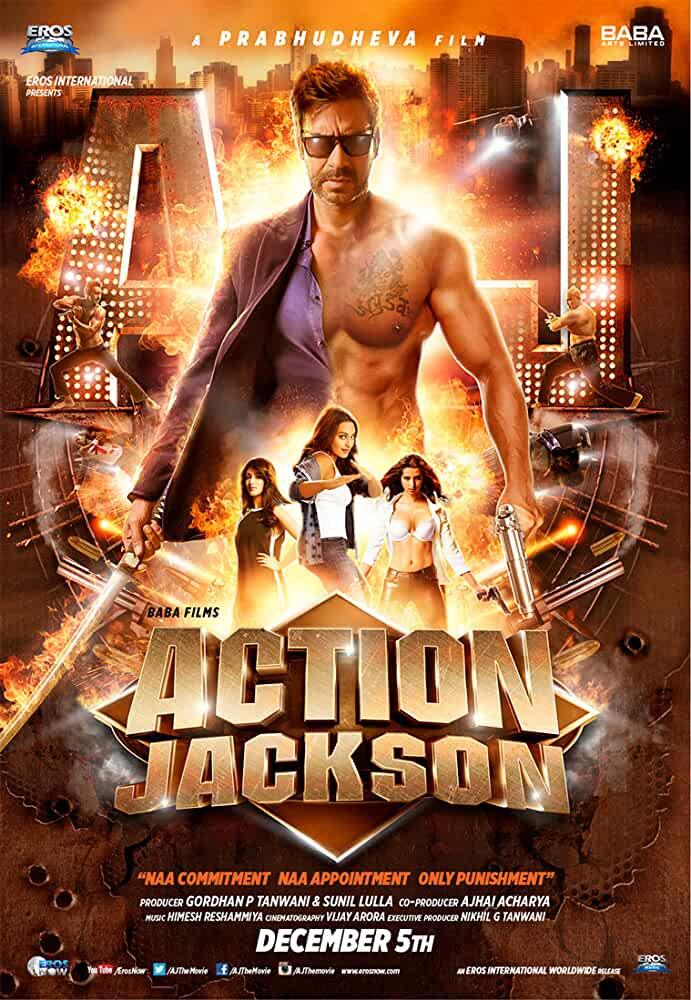 Action Jackson 2014 Movies Watch on Disney + HotStar