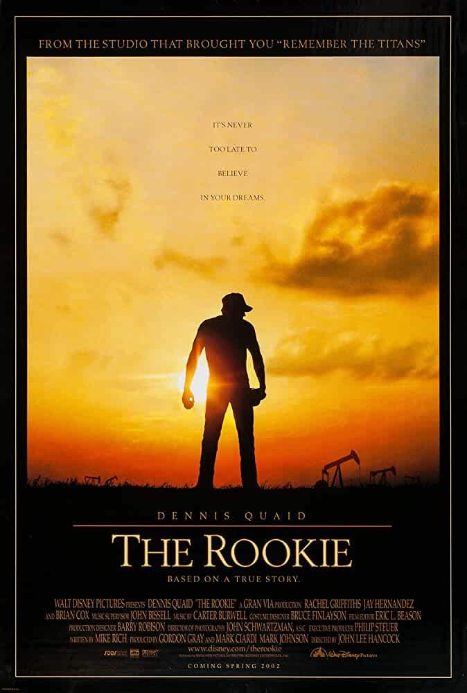 The Rookie 2002 Movies Watch on Disney + HotStar