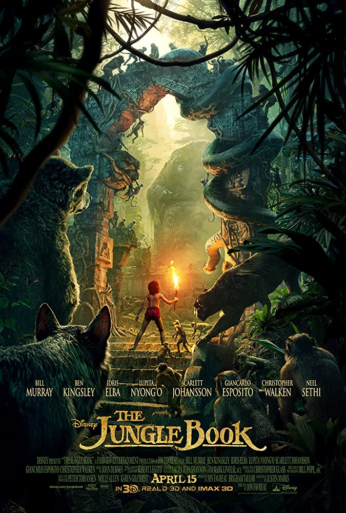 The Jungle Book 2016 Movies Watch on Disney + HotStar