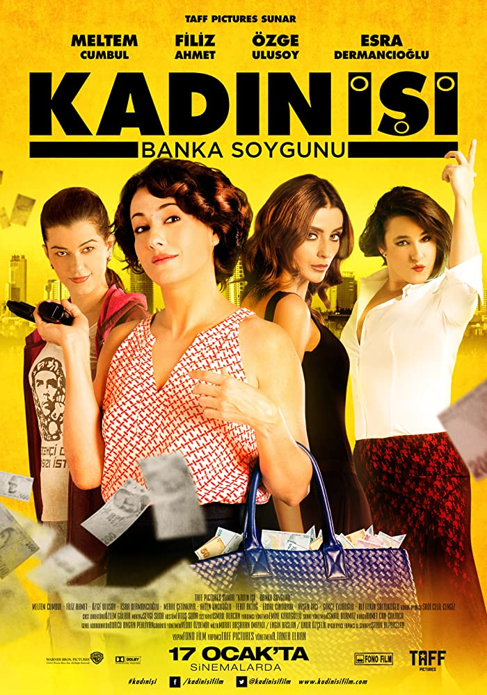 Kadin Isi Banka Soygunu 2014 Movies Watch on Netflix