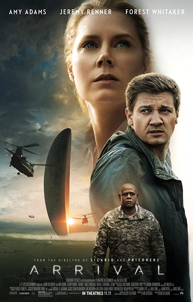 Arrival 2016 Movies Watch on Netflix