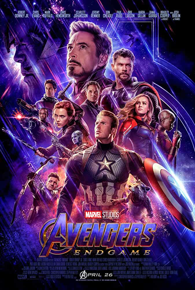 Avengers Endgame 2019 Movies Watch on Disney + HotStar