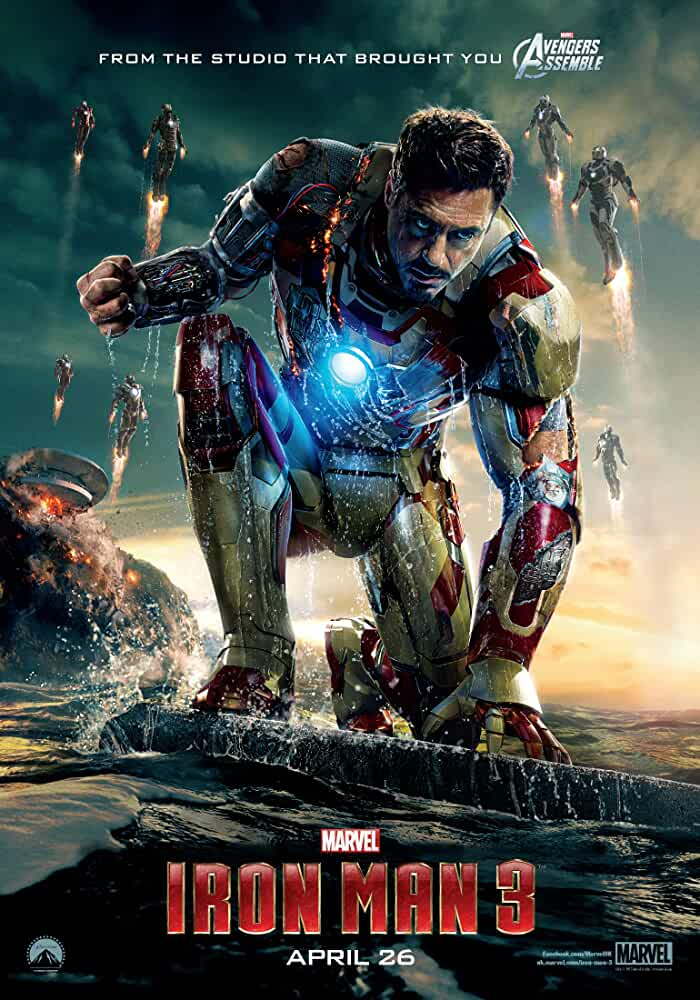 Iron Man 3 2013 Movies Watch on Disney + HotStar