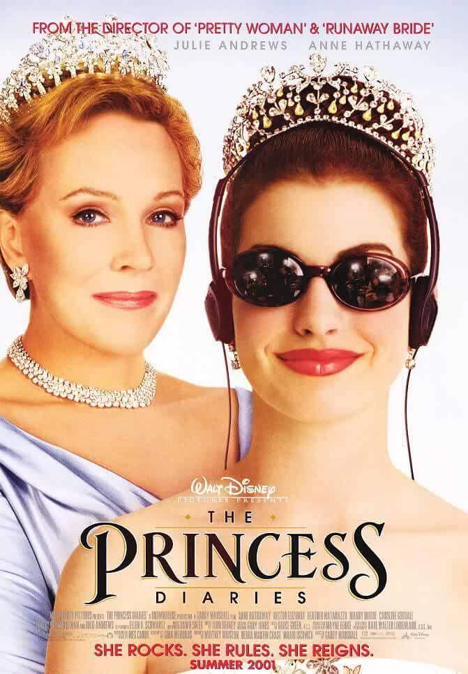 The Princess Diaries 2001 Movies Watch on Disney + HotStar