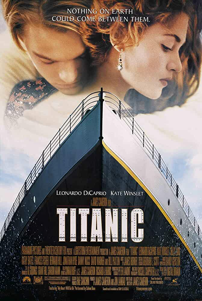 Titanic 1997 Movies Watch on Disney + HotStar