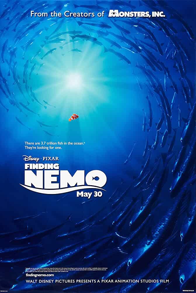 Finding Nemo 2003 Movies Watch on Disney + HotStar