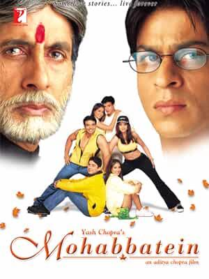 Mohabbatein 2000 Movies Watch on Amazon Prime Video