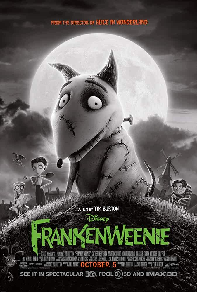 Frankenweenie 2012 Movies Watch on Disney + HotStar