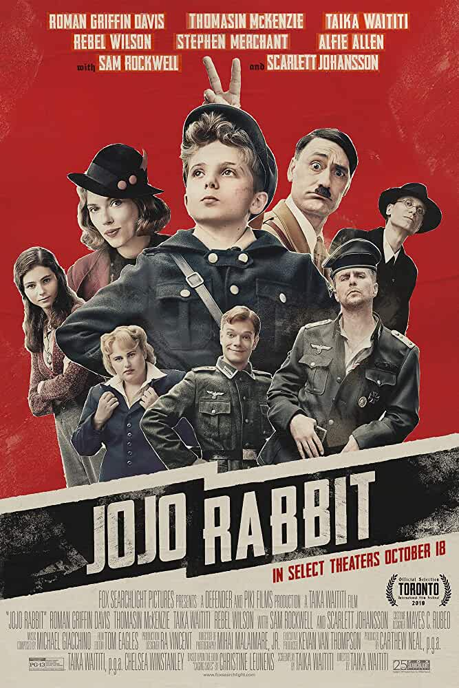 Jojo Rabbit 2019 Movies Watch on Disney + HotStar