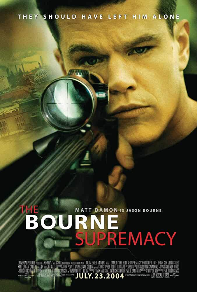 The Bourne Supremacy 2004 Movies Watch on Amazon Prime Video