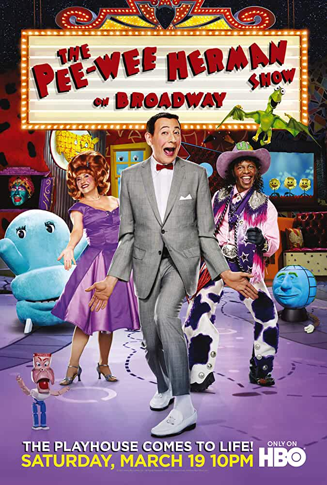 The Pee-Wee Herman Show on Broadway 2011 Movies Watch on Disney + HotStar