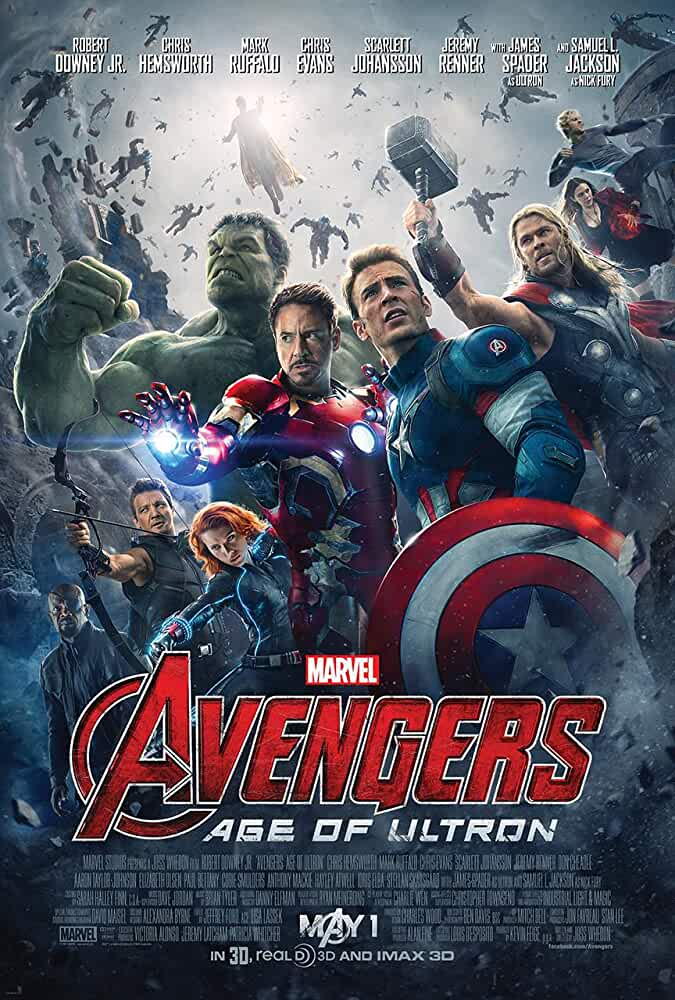 Avengers: Age of Ultron 2015 Movies Watch on Disney + HotStar