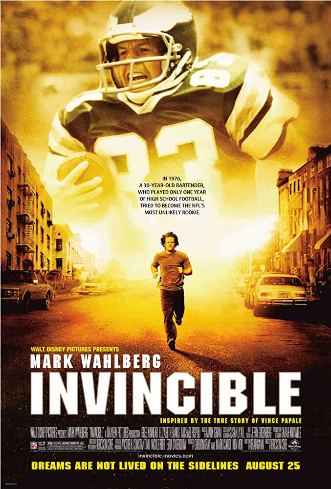 Invincible 2006 Movies Watch on Disney + HotStar