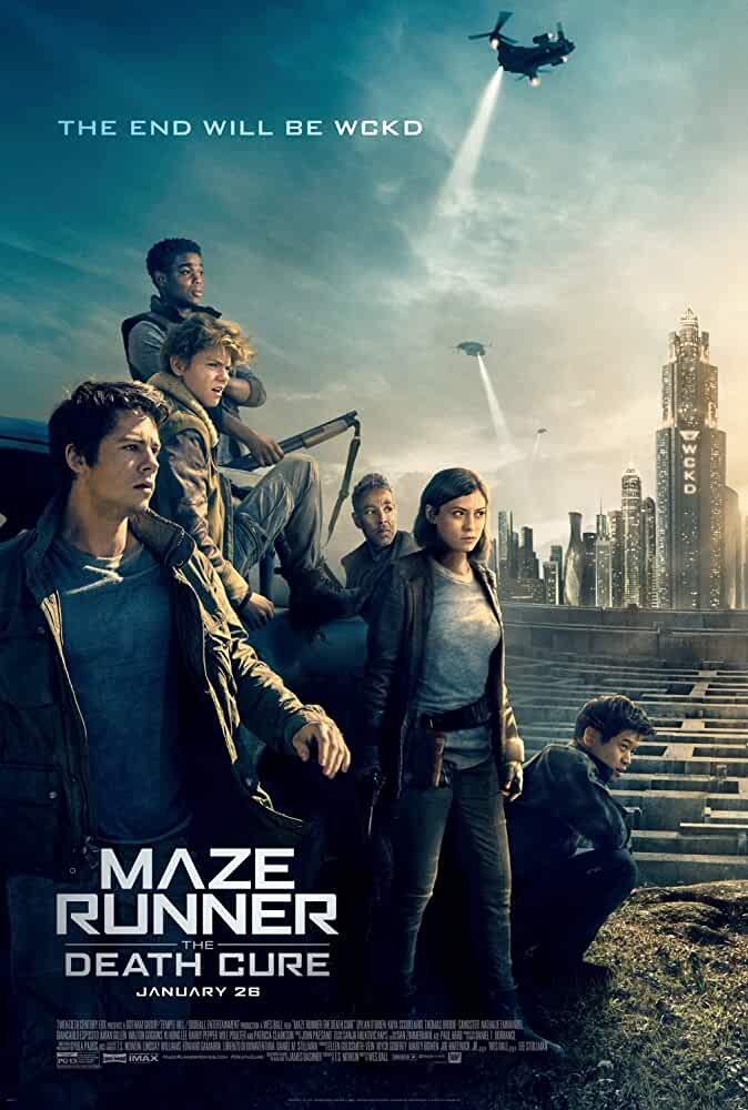 Maze Runner: The Death Cure 2018 Movies Watch on Disney + HotStar