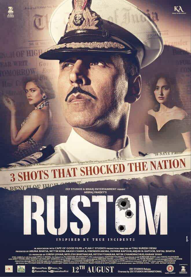 Rustom 2016 Movies Watch on Netflix
