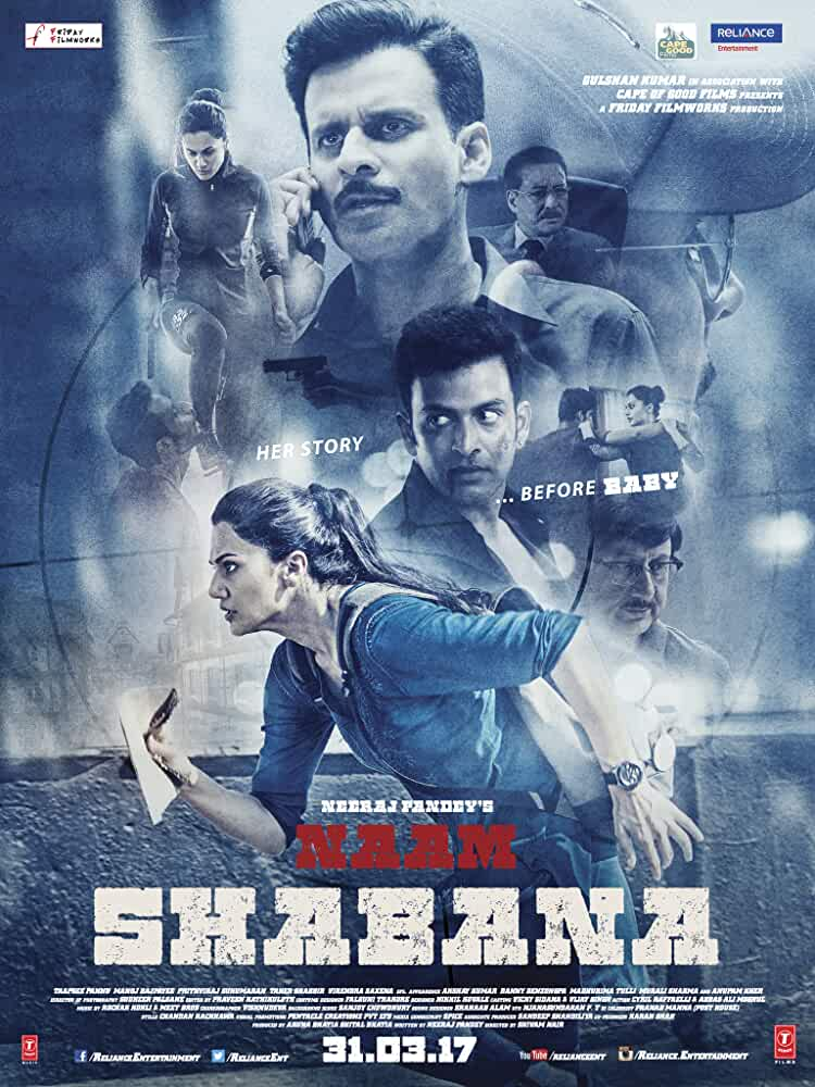 Naam Shabana 2017 Movies Watch on Netflix