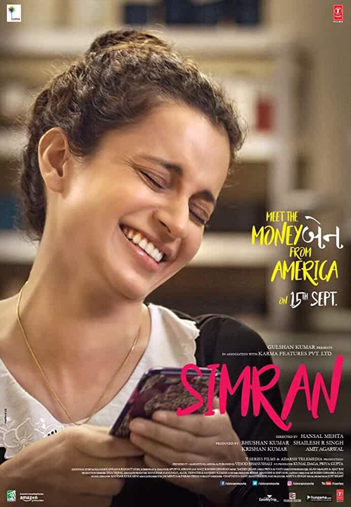 Simran 2017 Movies Watch on Amazon Prime Video