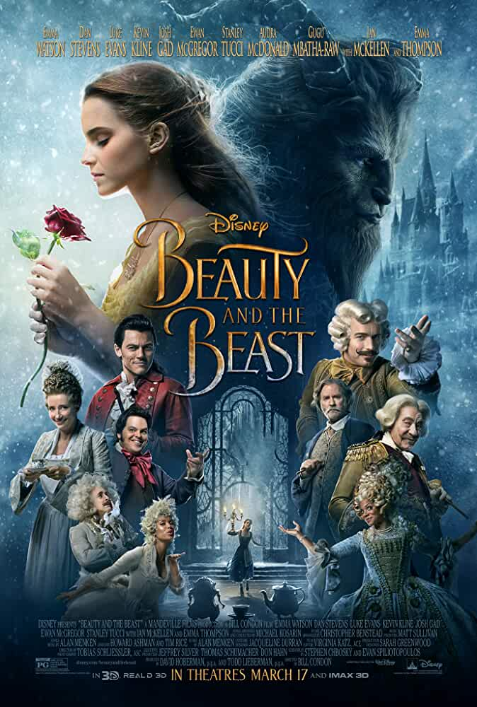 Beauty and the Beast 2017 Movies Watch on Disney + HotStar