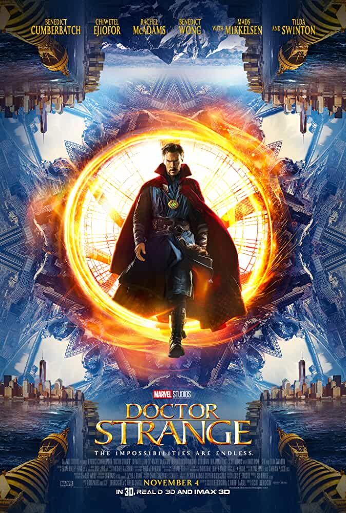 Doctor Strange 2016 Movies Watch on Disney + HotStar