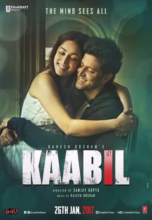 Kaabil 2017 Movies Watch on Disney + HotStar