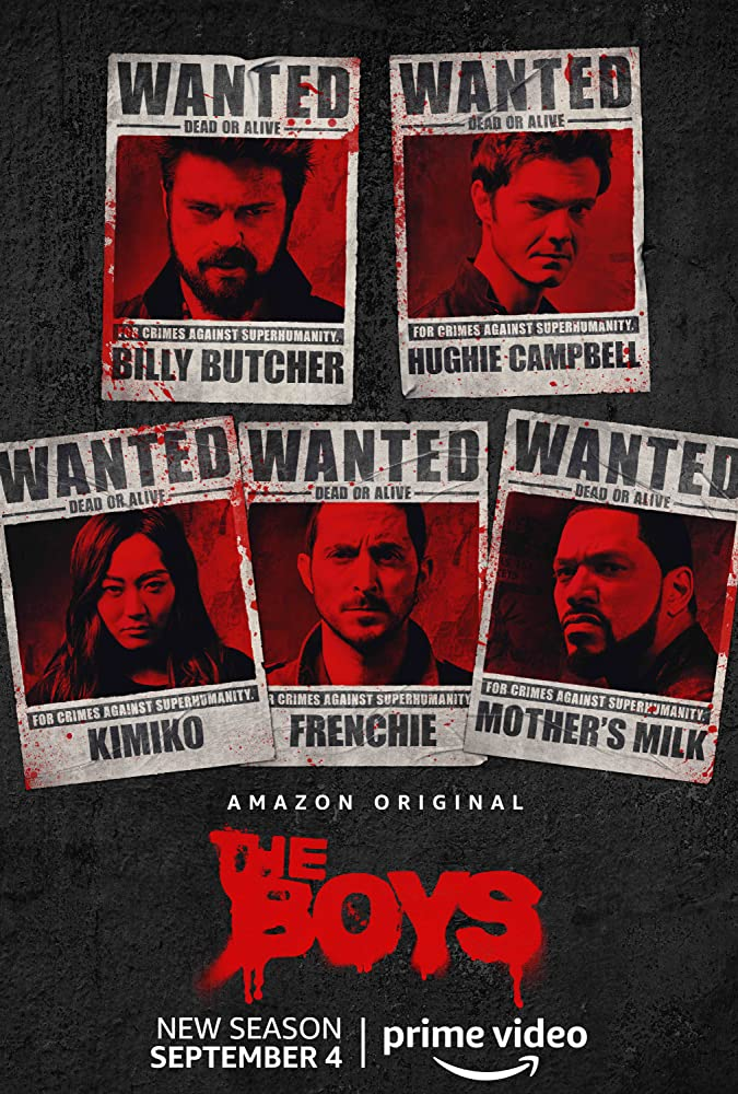 The Boys Season 2 2020 Web/TV Series Watch on Amazon Prime Video
