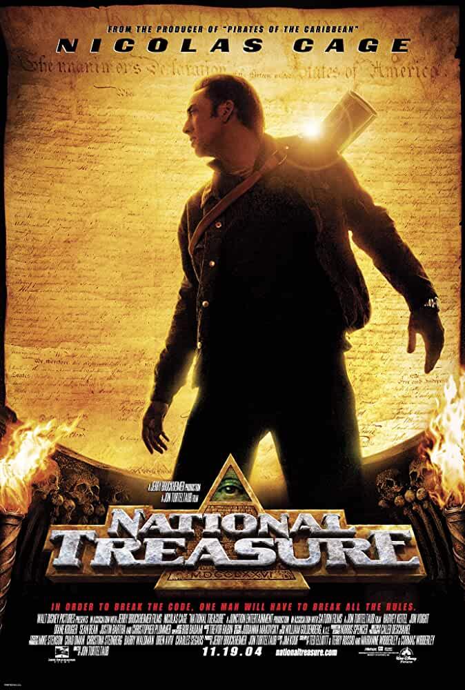 National Treasure 2004 Movies Watch on Disney + HotStar