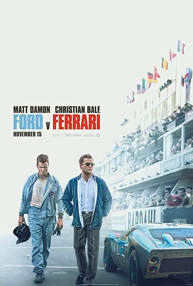 Ford v Ferrari 2019 Movies Watch on Disney + HotStar