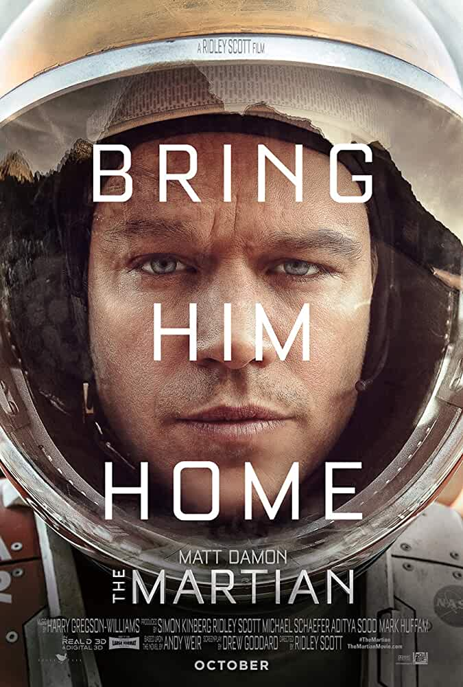 The Martian 2015 Movies Watch on Disney + HotStar