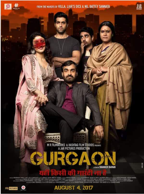 Gurgaon 2017 Movies Watch on Disney + HotStar