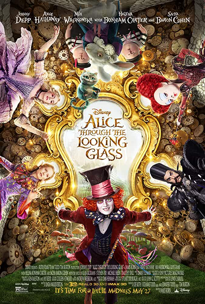 Alice Through the Looking Glass 2016 Movies Watch on Disney + HotStar