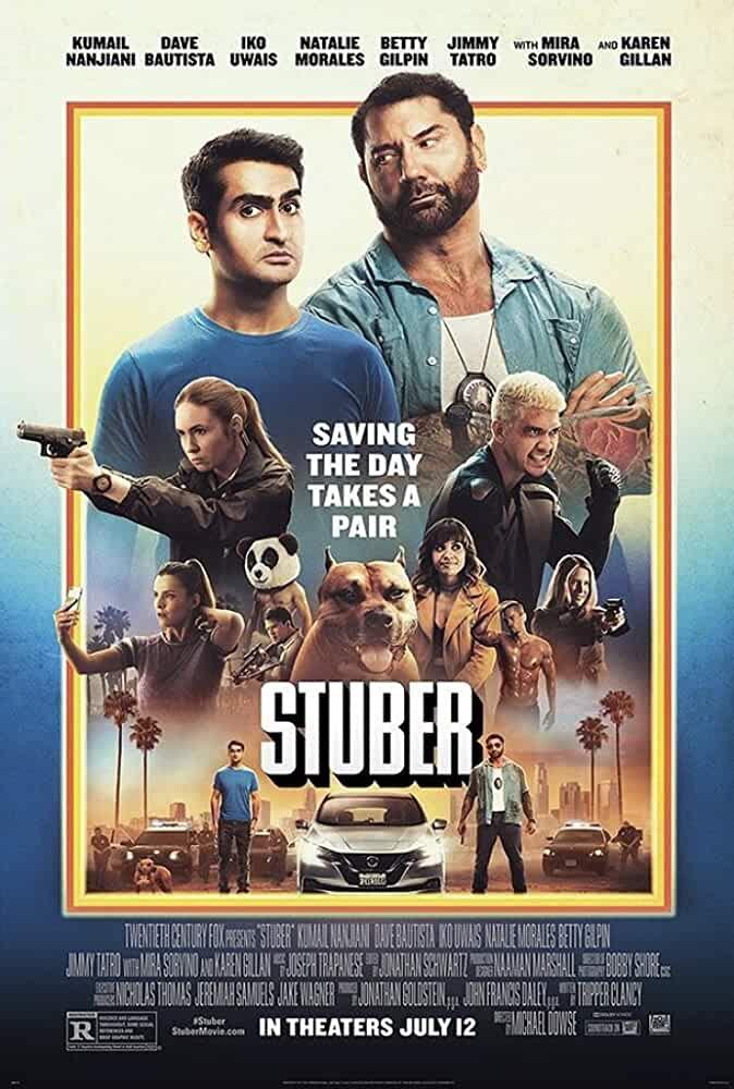 Stuber 2019 Movies Watch on Disney + HotStar