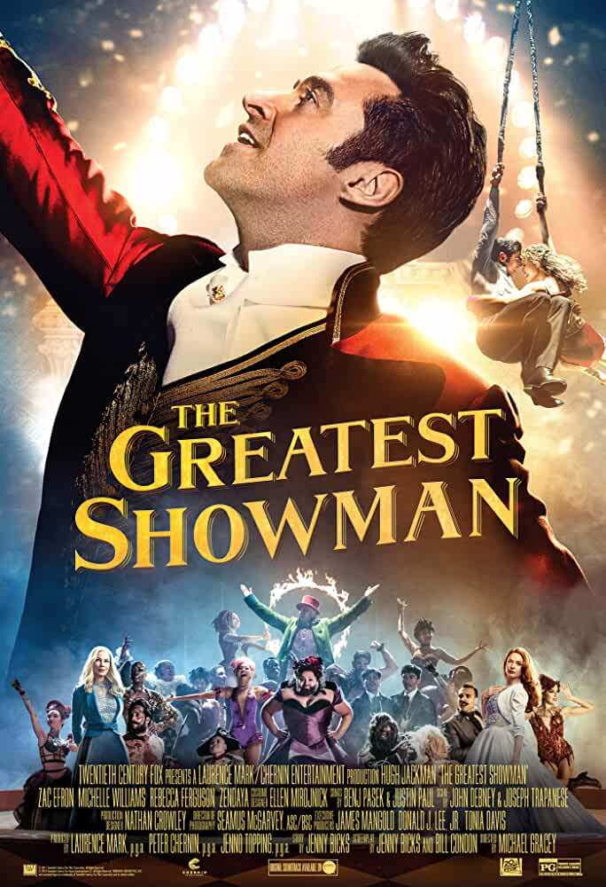 The Greatest Showman 2017 Movies Watch on Disney + HotStar