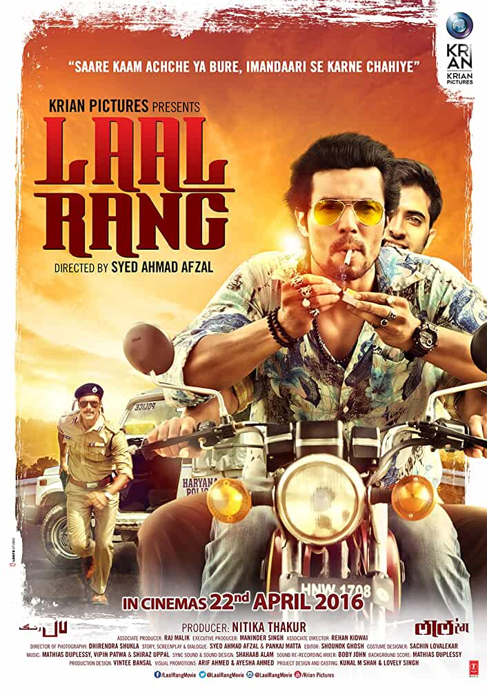 Laal Rang 2016 Movies Watch on Disney + HotStar