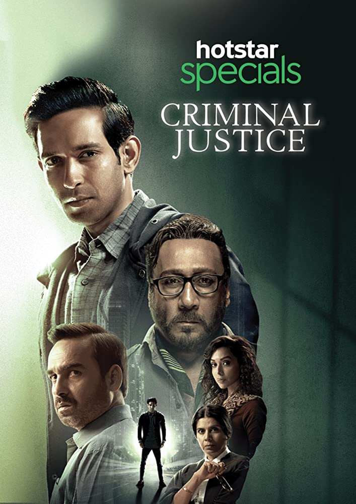Criminal Justice 2019 Web/TV Series Watch on Disney + HotStar