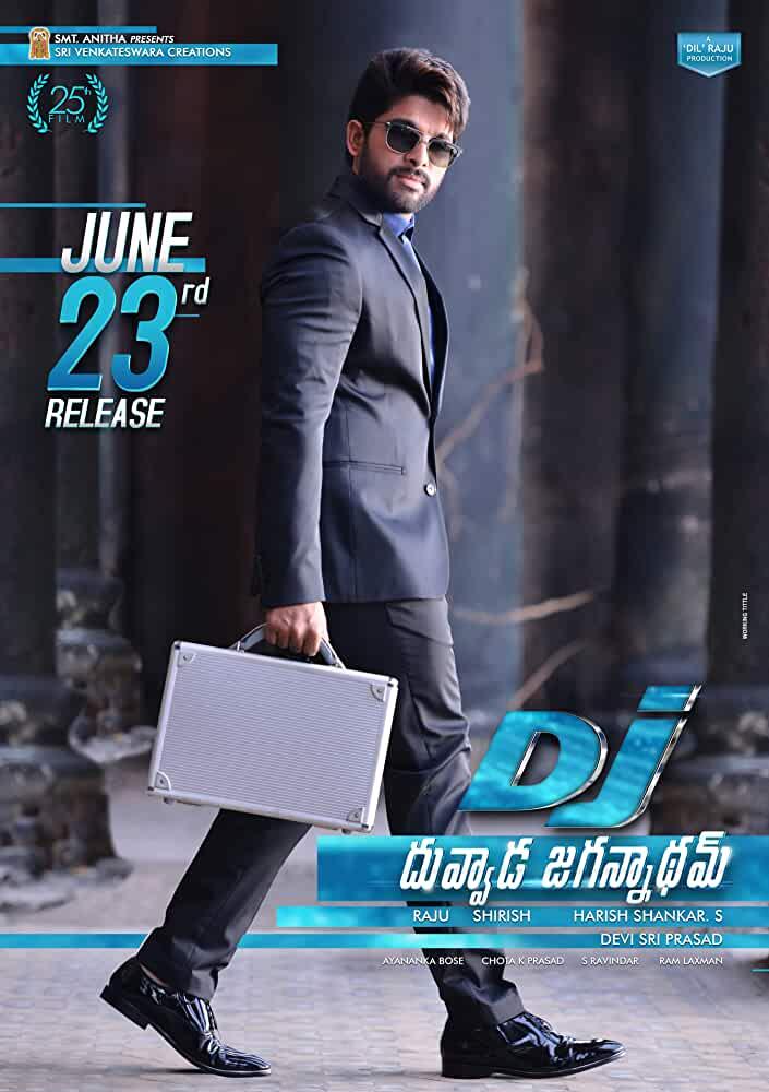 DJ [Duvvada Jagannadham] 2017 Movies Watch on Disney + HotStar