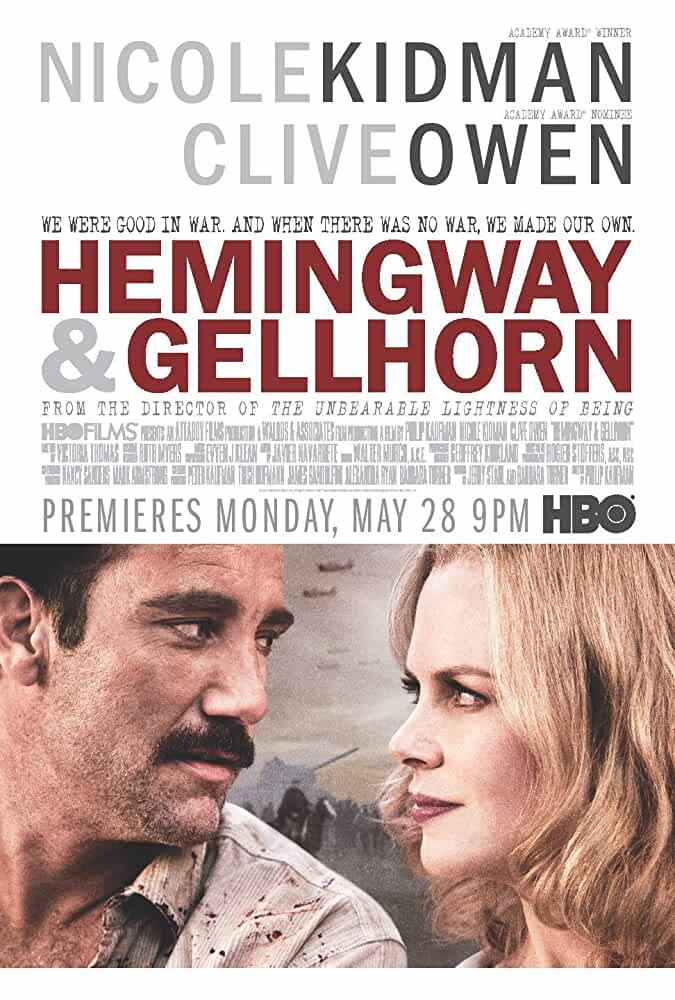 Hemingway & Gellhorn 2012 Movies Watch on Disney + HotStar