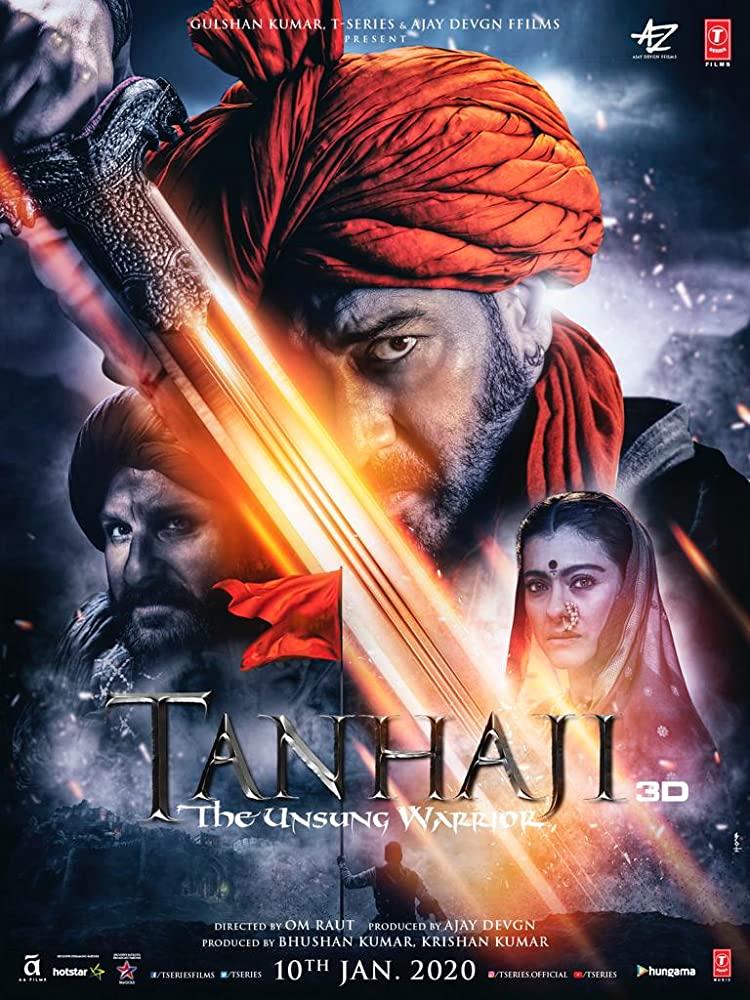 Tanhaji 2020 Movies Watch on Disney + HotStar