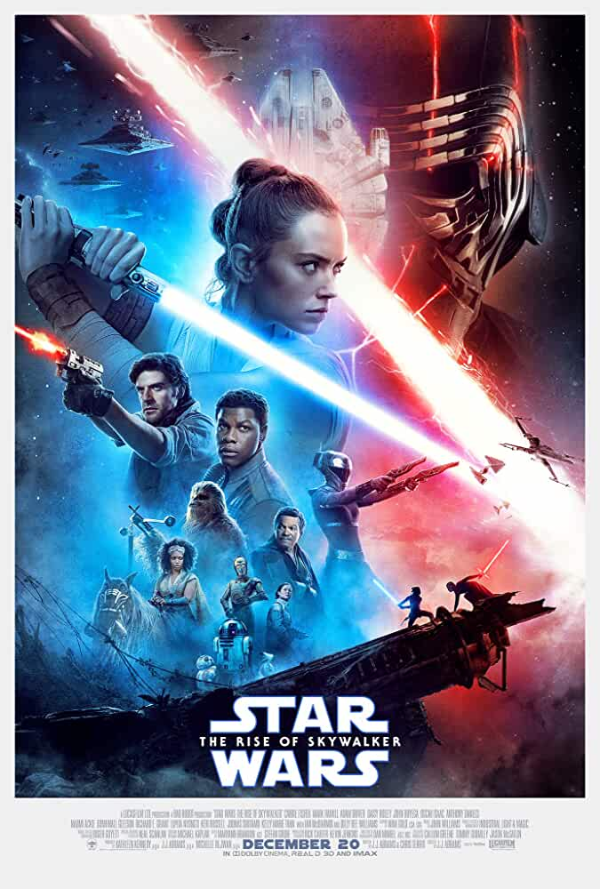 Star Wars: The Rise of Skywalker 2019 Movies Watch on Disney + HotStar