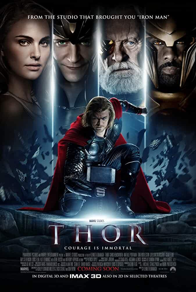 Thor 2011 Movies Watch on Disney + HotStar
