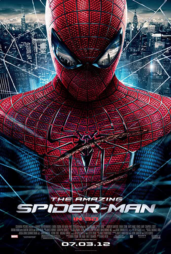 The Amazing Spider-Man 2012 Movies Watch on Netflix