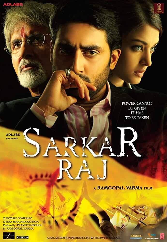 Sarkar Raj Reign of Government 2008 Movies Watch on Disney + HotStar