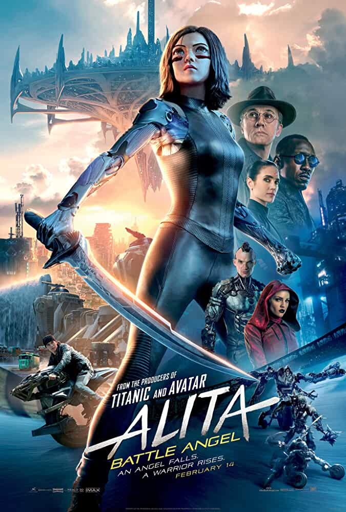 Alita: Battle Angel  2019 Movies Watch on Disney + HotStar