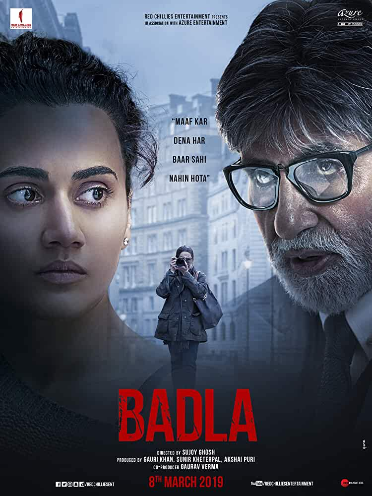 Badla 2019 Movies Watch on Netflix