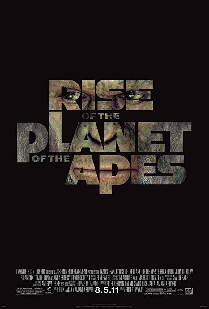 Rise of the Planet of the Apes 2011 Movies Watch on Disney + HotStar