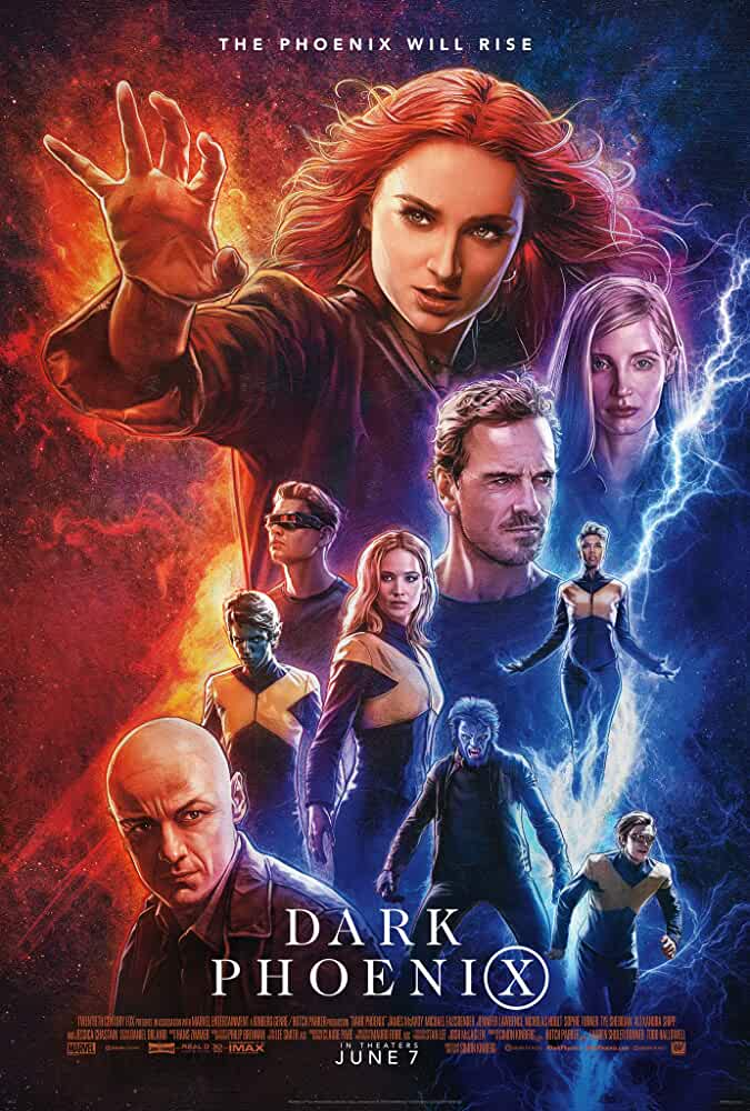 X-Men: Dark Phoenix 2019 Movies Watch on Disney + HotStar