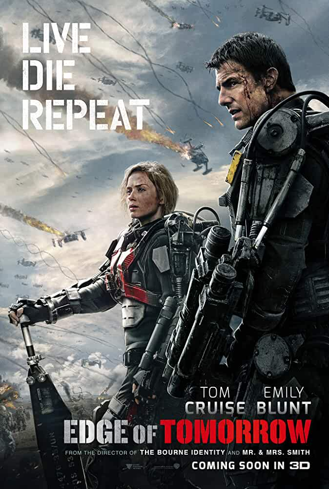 Live Die Repeat: Edge of Tomorrow 2014 Movies Watch on Amazon Prime Video