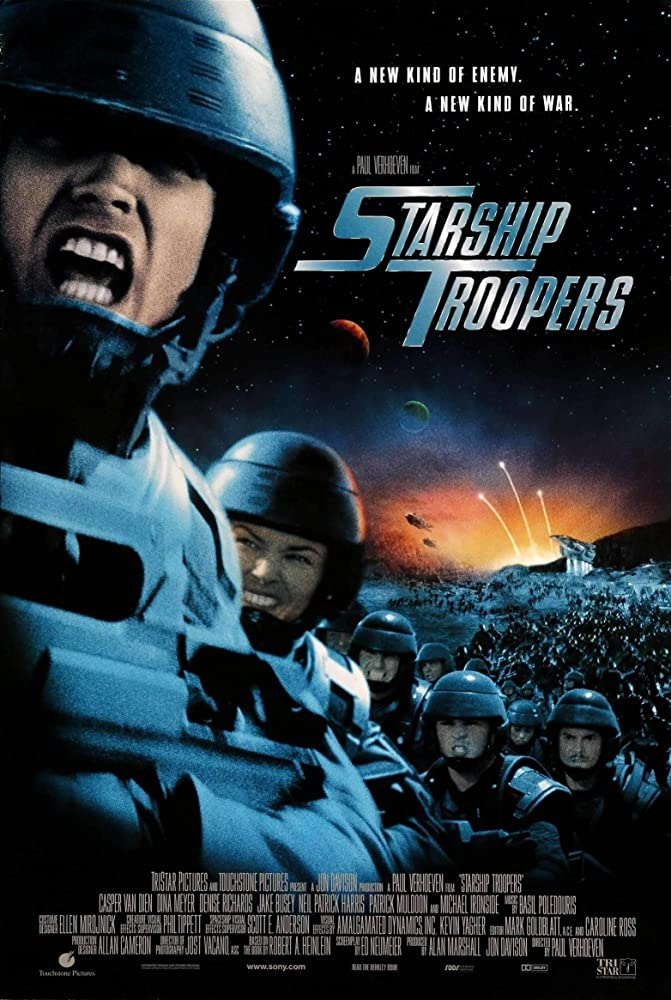 Starship Troopers 1997 Movies Watch on Netflix