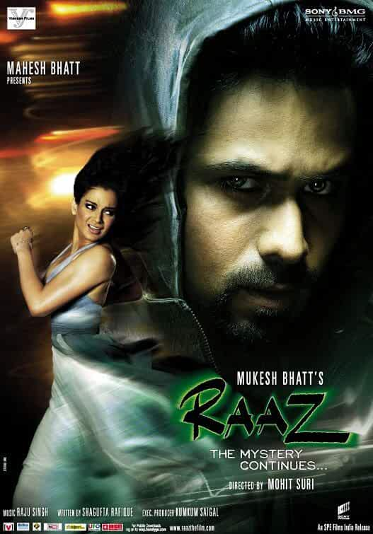Raaz: The Mystery Continues 2009 Movies Watch on Disney + HotStar